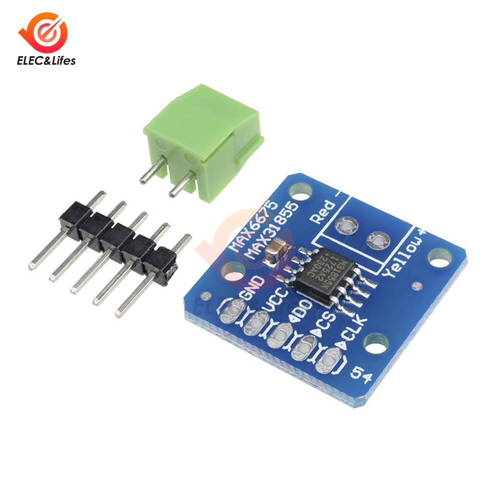 MAX31855 MAX6675 SPI K Type Thermocouple Temperature Sensor Module new Temperature measurement Breakout board module