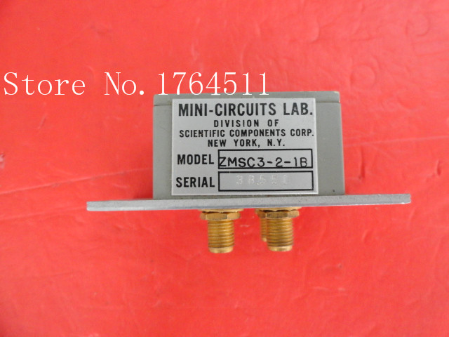 [BELLA] A Three Mini Power Divider ZMSC3-2-1B SMA