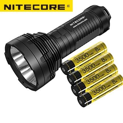 Nitecore TM16GT 3600 Lumens 4* CREE XP-L HI V3 LEDS IPX-8 Meters1003 Beam Distence Tatical Flashlight