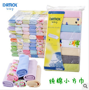 8pcs Brand 2016 Cartoon Cotton Soft Baby Bath Towel Feeding Newborn Bath Towels Wholesale High Quality Autumn and Winter