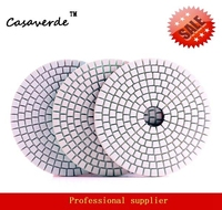 DC BSW3PP02 Wet 4 Inch 3 Step Polishing Pads For Stone