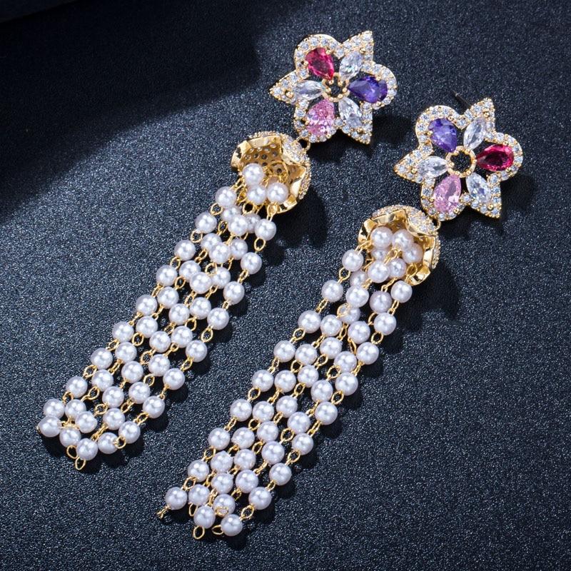 Long Tassel Earrings5
