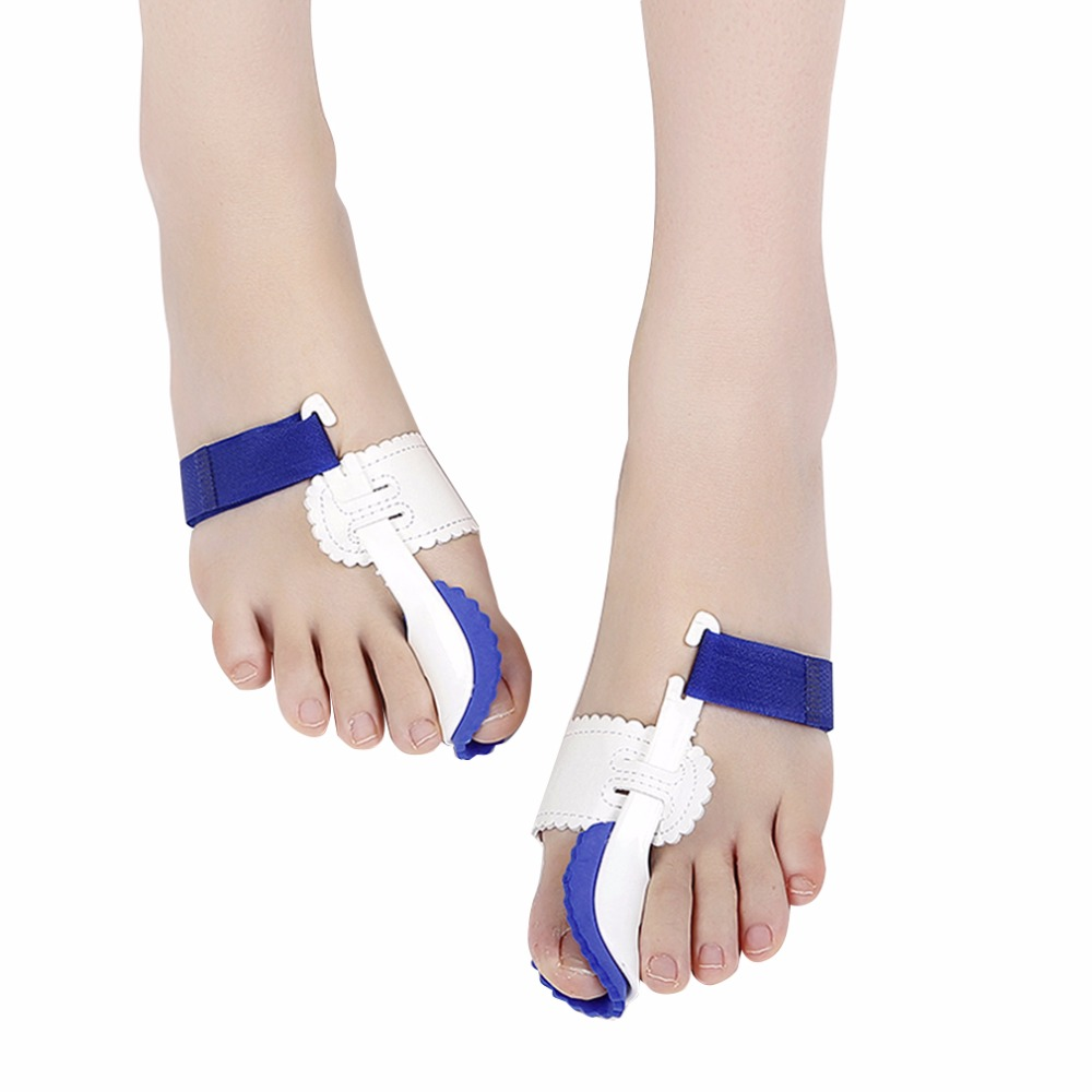 2 Pcs/lot Big Toe Separator Corrector Straightener Bunion Splint Toe Straightener Foot Pain Relief Hallux Valgus Feet Care