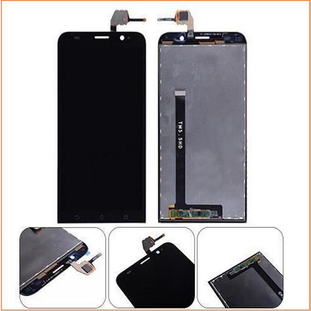 "100% Nueva Genuina Del LCD y Pantalla Táctil Digitalizador Asamblea Para Asus zenfone 2 ZE551ML Zenfone 5.5 ""con la película protectora"