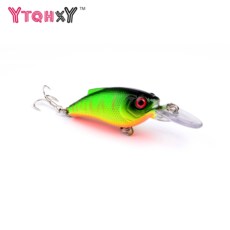 1Pcs Wobbler Fishing Lure Crankbait 7.5cm 9.1g Hard Bait Crank Isca Artifical Bait Floating Lure Top water  6 # hook WQ8058 crankbait fishing lure 112mm 14g hard bait wobbler crank bait minnow lure 1 2 3 5m artifical peche with treble sharp hook