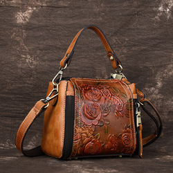 Alta qualidade natural da pele de luxo senhoras cruz corpo tote bolsa feminina mensageiro ombro alça superior sacos couro genuíno