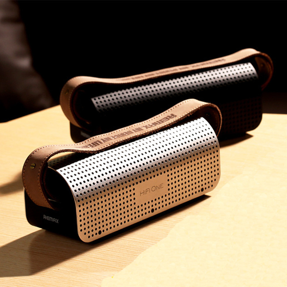 Famous Brand REMAX RB-H1 8800mAh Stereo Wireless Bluetooth Speaker Bluetooth 4.0 Power Bank Support NFC SD Card Handsfree #ET81