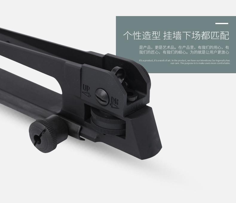 Ar15 metal destacável preto carry lidar com