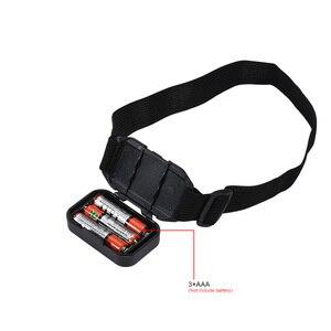 Image 5 - Coba cob faro portátil mini faro 5 colores 3 modos 3 * AAA batería impermeable super brillante luces camping corriendo