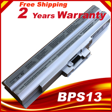 Silver Battery for Sony VGP-BPS13/S VGP-BPS13A/S VGP-BPS13AS VGP-BPS13B/S VGP-BPS13S