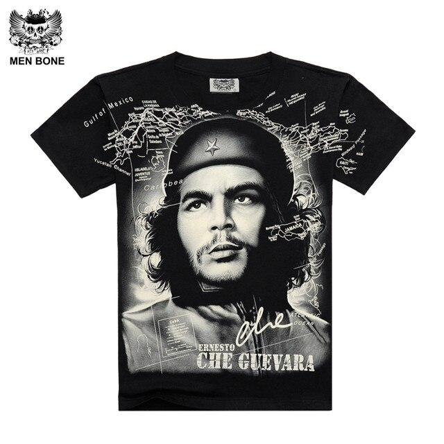 eadceea159  Men bone  Summer Fashion Che Guevara Men s Shirt 3D printing T shirt  Argentina hero men T-shirt cotton Tees free shipping