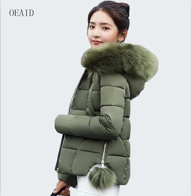 Aliexpress.com : Buy Fashion short parka women coat fur collar ...