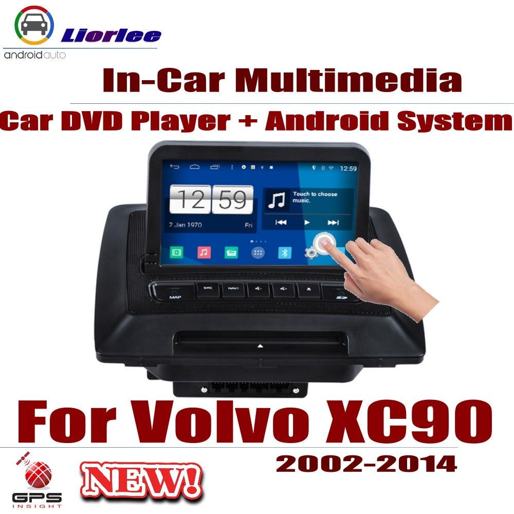 Pour Volvo XC90 2002 ~ 2014 voiture Android GPS Navigation lecteur DVD Radio stéréo ampli BT USB SD AUX WIFI HD écran multimédia