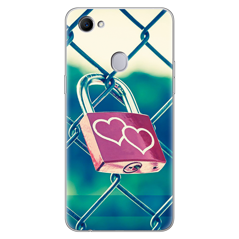 Case For OPPO F7 Case Silicone Cute Clear Coque Phone For OPPO F7 Cover Coque TPU Soft Cat Fundas For OPPO F7 F 7 Oppof7 Case