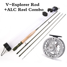 Maximumcatch 9FT Fly Fishing Rod And Fly Reel Combo 5/6/7/8WT Medium Fast IM6 Graphite Carbon