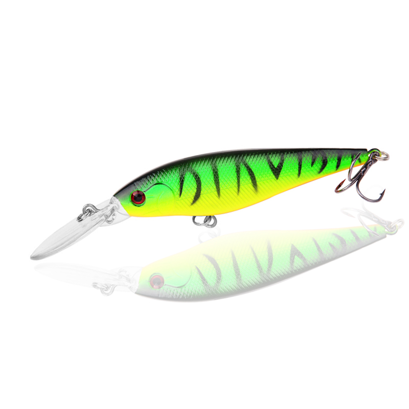 1PCS Quality 10 Colors 11cm 10g Isca Artificial Hard Bait Pesca Minnow Fishing lures wobbler crankbait 6# hook 3D eyes ZB73 1 5 4m 10 5g 11cm hard bait minnow fishing lures crankbait wobbler depth dive bass fresh salt water 4 hook