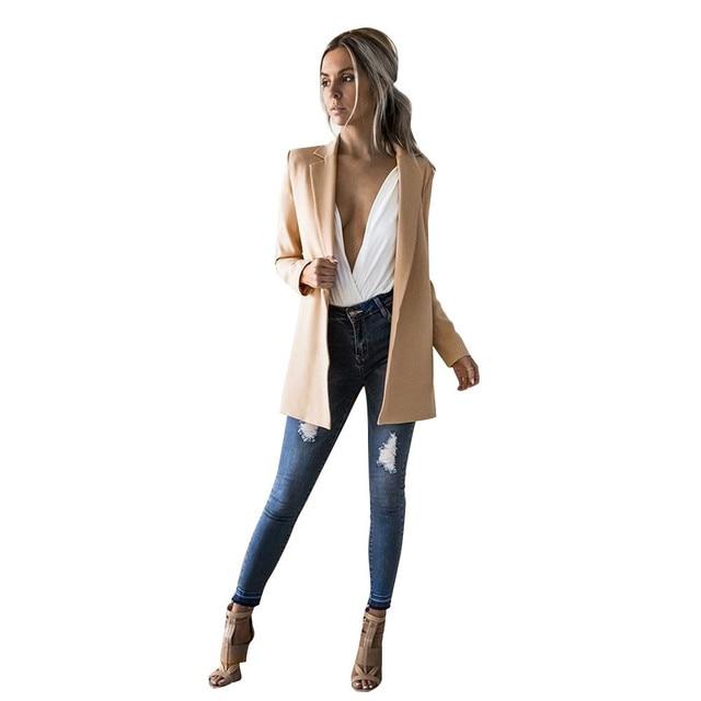 cheap for discount 128c5 8dbb2 2018-Mode-Femmes-Manches-Longues-pour -Femmes-Cardigan-Costume-D-contract-Veste-Manteau-Manteaux-femme-veste.jpg 640x640.jpg