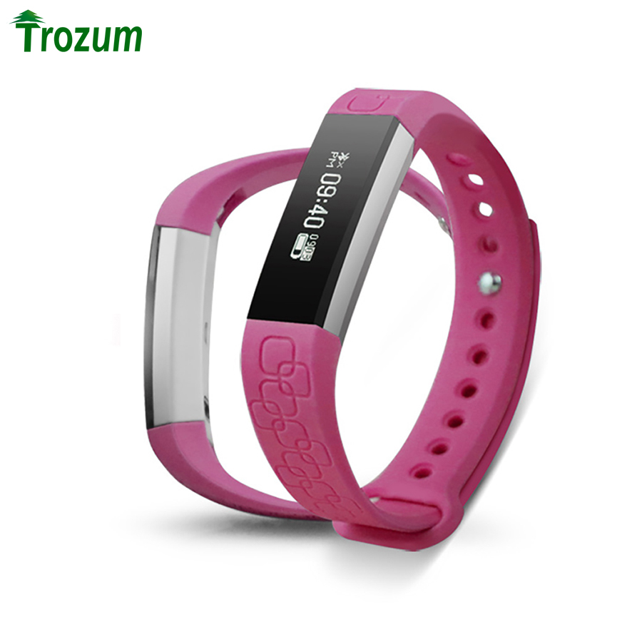 TROZUM M1 Bluetooth Smart Bracelet Pedometer Heart Rate Sleeping Monitor Call Reminder Wristband Fitness Tracker for