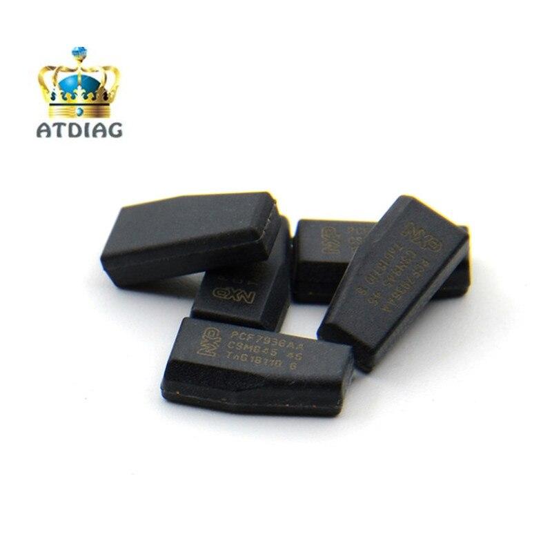 Car Key Chip 10PCS Keydiy ORIGINAL PCF7935 AA PCF7936AS SOT385 Key Transponder Chip ID46 Chip PCF7936/PCF7935 Locksmith Tool
