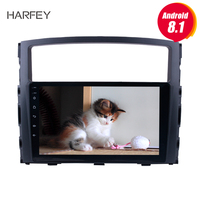 Harfey 9 HD Touch Screen for 2006 2007 2008 2013 Mitsubishi PAJERO V97/V93 Android 8.1 Radio GPS Nav Car Stereo with Bluetooth