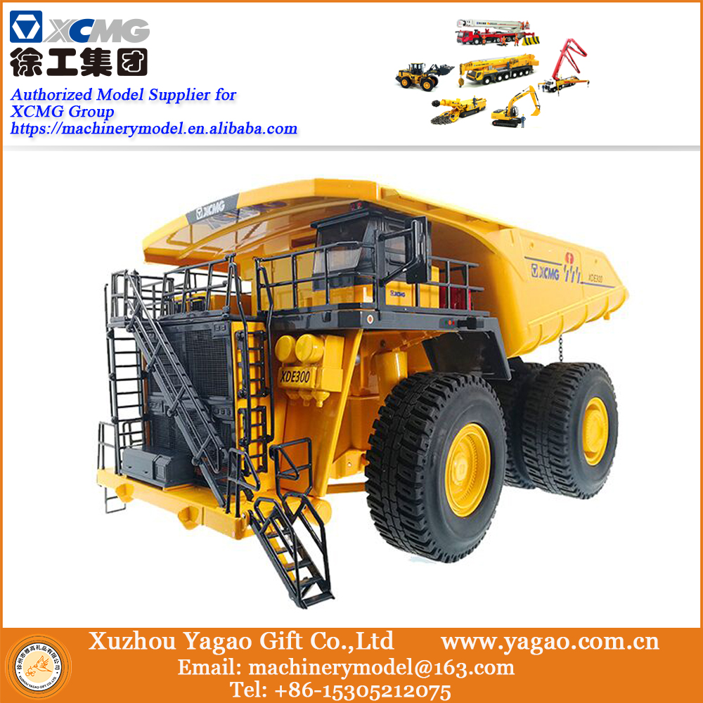 2018 New 1:50 XCMG XDE360 Mining Truck, 360 Tons Replica, Collection, match with XE7000 excavator, Construction Model, fast ship 1 35 xugong xcmg xe215c excavator alloy truck diecast model construction vehicles toy