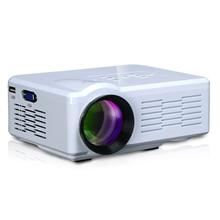 Дешевле 1000 люмен HD TV Проектор для домашнего кинотеатра HDMI LCD LED игры ПК Цифровые Проекторы Мини 1080 P Proyector 3d-проектор, uc40 uc30