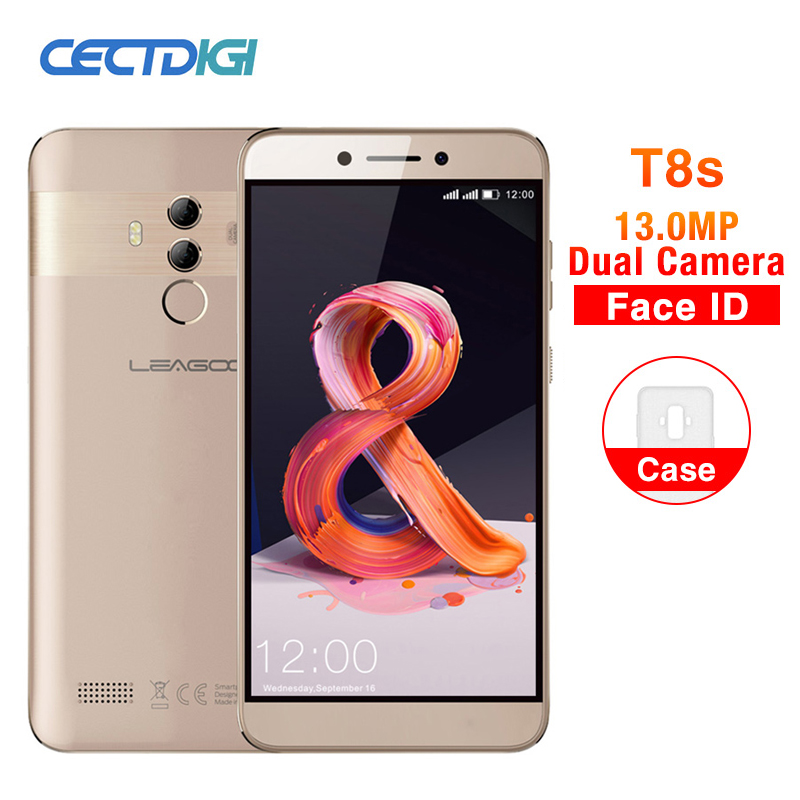 LEAGOO T8s 5.5 ''FHD Incell téléphone Mobile Android 8.1 4 GB 32 GB MTK6750T Octa Core 3080 mAh 13MP double caméra identification de visage Smartphone-in Mobile Téléphones from Téléphones portables et télécommunications on AliExpress - 11.11_Double 11_Singles' Day 1