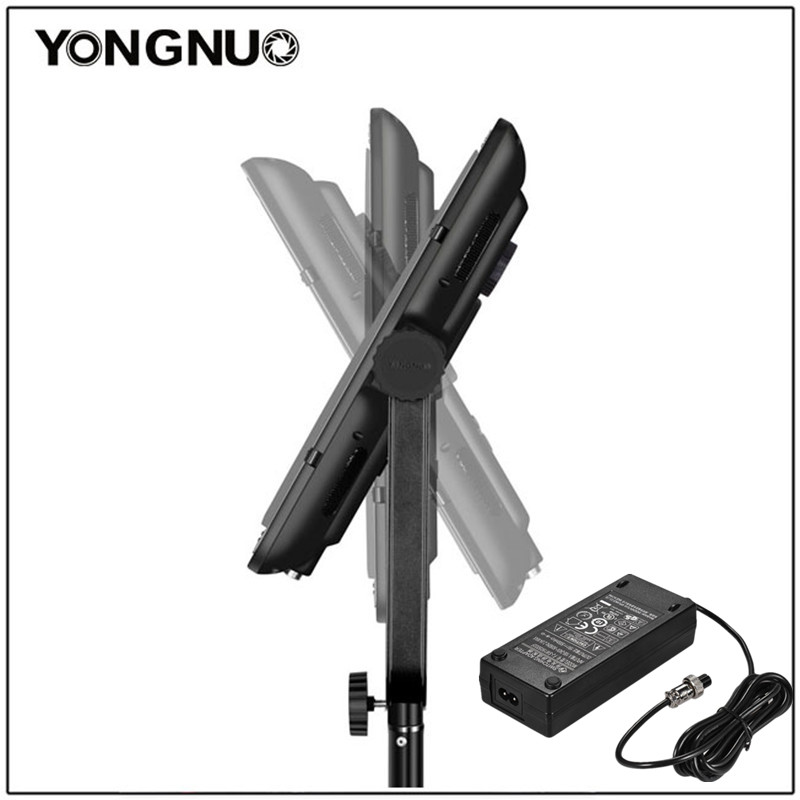 YONGNUO YN900 II Pro LED Panel Video Light with Adjustable Color Temperature 3200K-5500K for Canon Nikon Camera Camcorder недорого