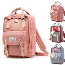Бренд doughnu школьные рюкзаки для девочек Водонепроницаемый Kanken дорожная сумка Для женщин большой Ёмкость бренд Сумки для Обувь для девочек Mochila