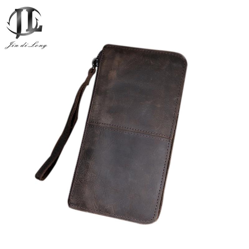 지갑 핸드 가방 디자이너 망 가방 남자 지갑 코인 지퍼 포켓 패션 롱 디자인 남자 가방 진짜 가죽 지갑