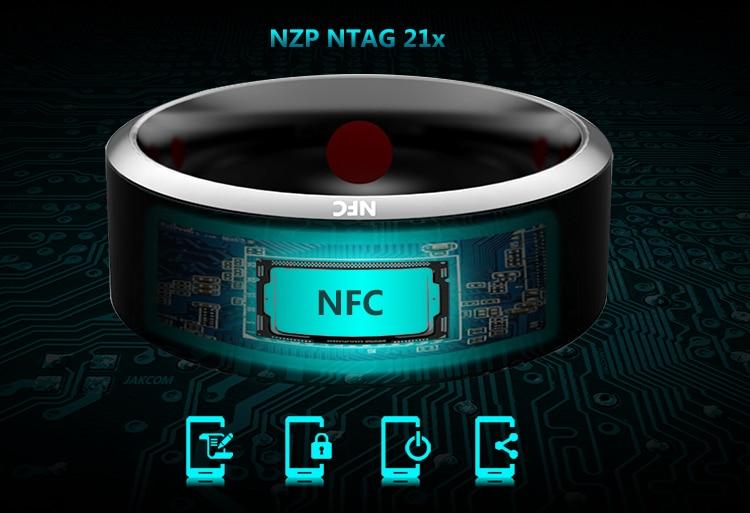 NFC Smart палец кольцо водонепроницаемый/пыли для Sony LG Samsung iphone HTC Android мобильный телефон носить магия jakcom смарт Кольцо R3