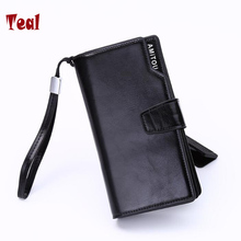 Men and women with High capacity mobile phone bag lady hand caught receive package wallet purse luxury brands