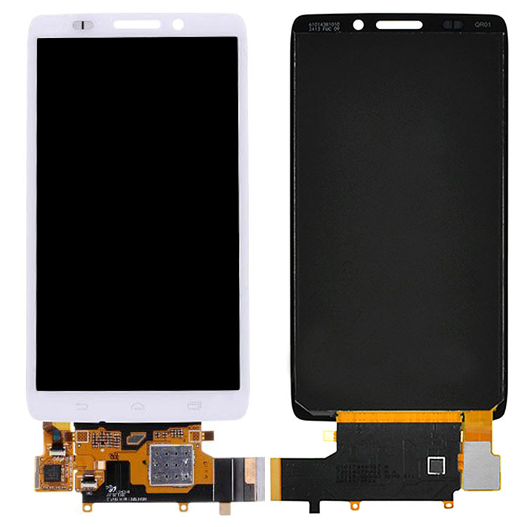 White LCD Screen+Touch Glass Digitizer Assembly For Motorola Droid Ultra XT1080 MAXX 1080M High Quality