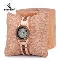 BOBO BIRD женские часы повседневные антикварные деревянные женские кварцевые часы подарок для подруги saat erkek часы