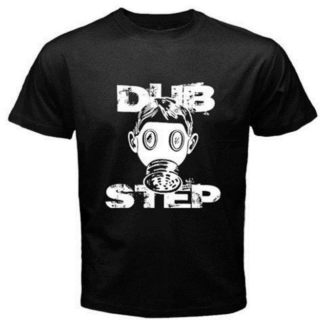 GASMASK gas mask DUBSTEP DJ dub step Electronic Music Blask T-shirt U19