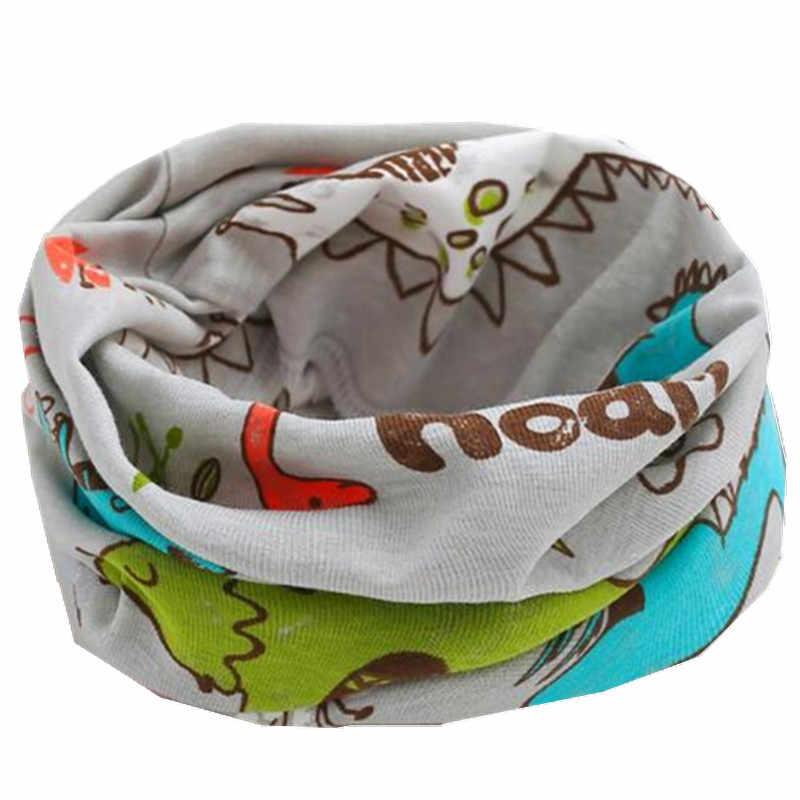 Новинка; сезон осень-зима; шарф из 100% хлопка для девочек; Детский шарф; нагрудный шарф для мальчиков и девочек с круглым кольцом; милый детский шарф с воротником; Bufandas
