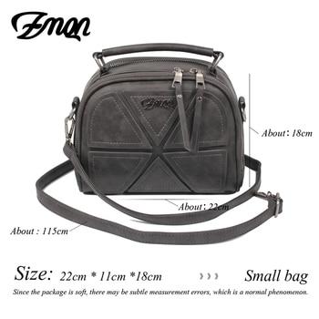 ZMQN Small PU Leather Handbags 4