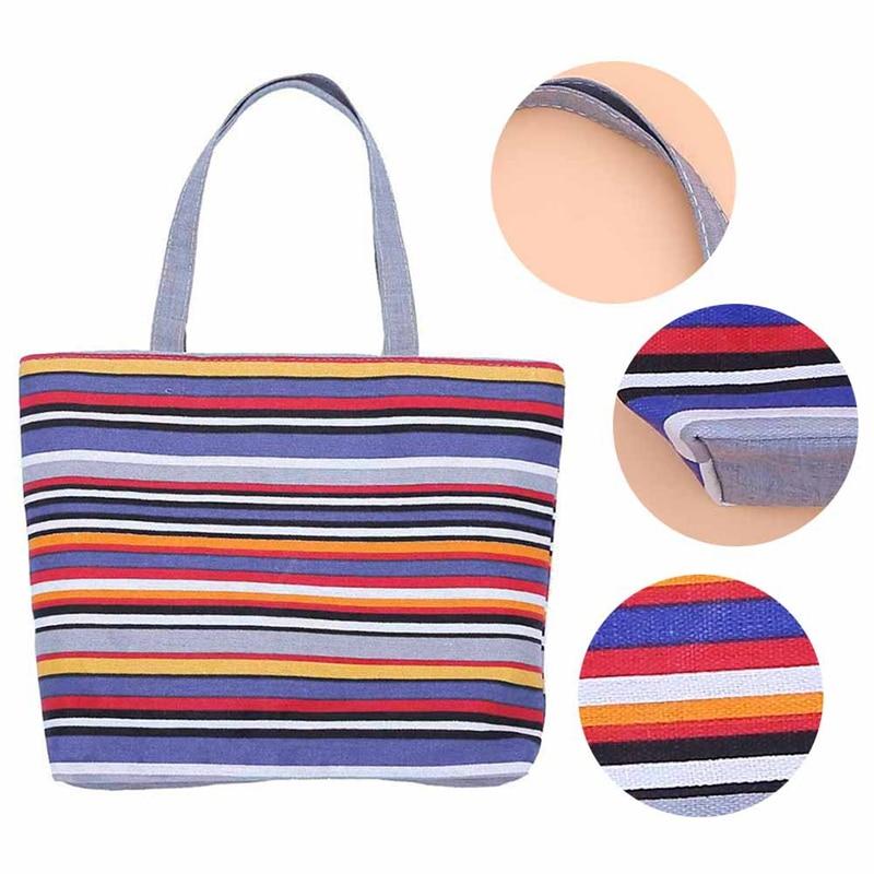 1 StÜcke Mode Frauen Einkaufstasche Wiederverwendbare Einkaufstasche Vlies Taschen Faltung Handtasche