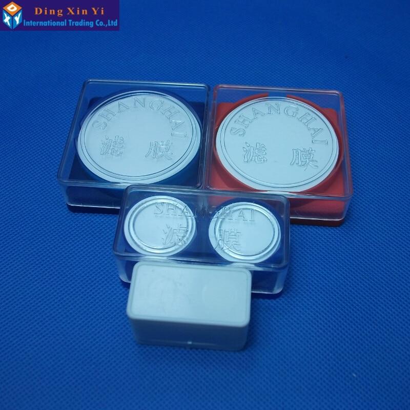 50ks / lot 0.45um nebo 0.22, 50mm PTFE membrána Millipore nylonová - Školní a vzdělávací materiály - Fotografie 5