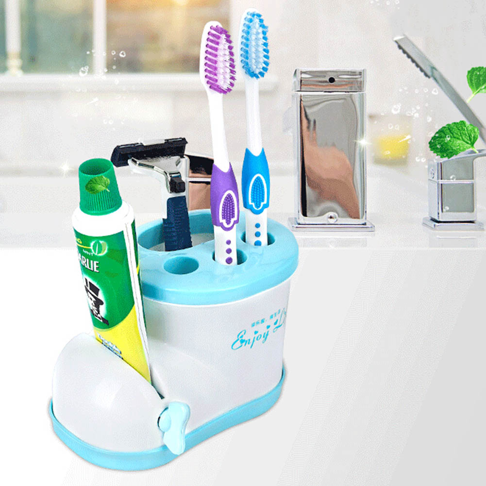 Multifunctional Boots Toothbrush Holder with Toothpaste Squeezer For ...