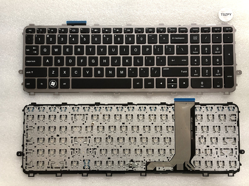 New FOR  HP Envy 15-J 15-J000 15T-J000 15T-J100 15Z-J000 15Z-J100 Keyboard US NO Backlit