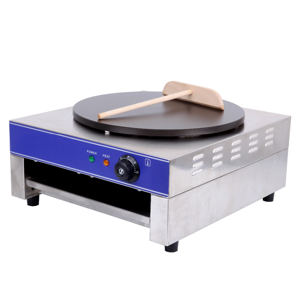 (Ship from Germany) 15 inch 3000W Electric Pancake Maker Non-Stick Large Crepe Maker Machine