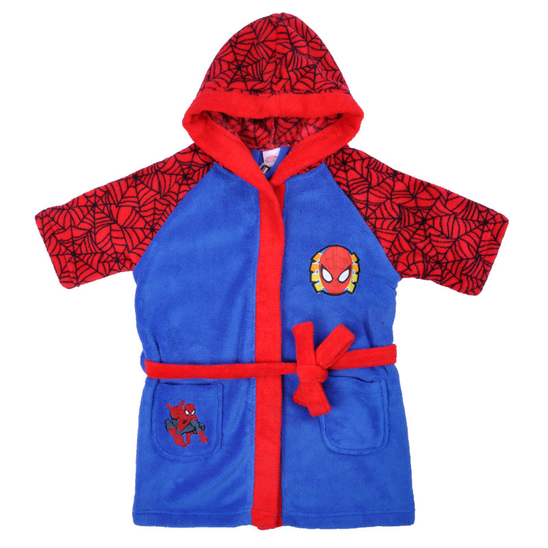9f06d6619d Kids Bathrobe Cartoon Spiderman Coral Fleece Boys Robe Roupao Infantil  Pajamas Sleepwear Free Shipping-in Robes from Mother   Kids on  Aliexpress.com ...