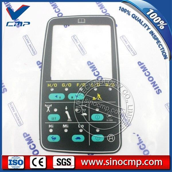 5ชิ้นภาษาอังกฤษสติ๊กเกอร์สำหรับKomatsu PC200-66D102ตรวจสอบ