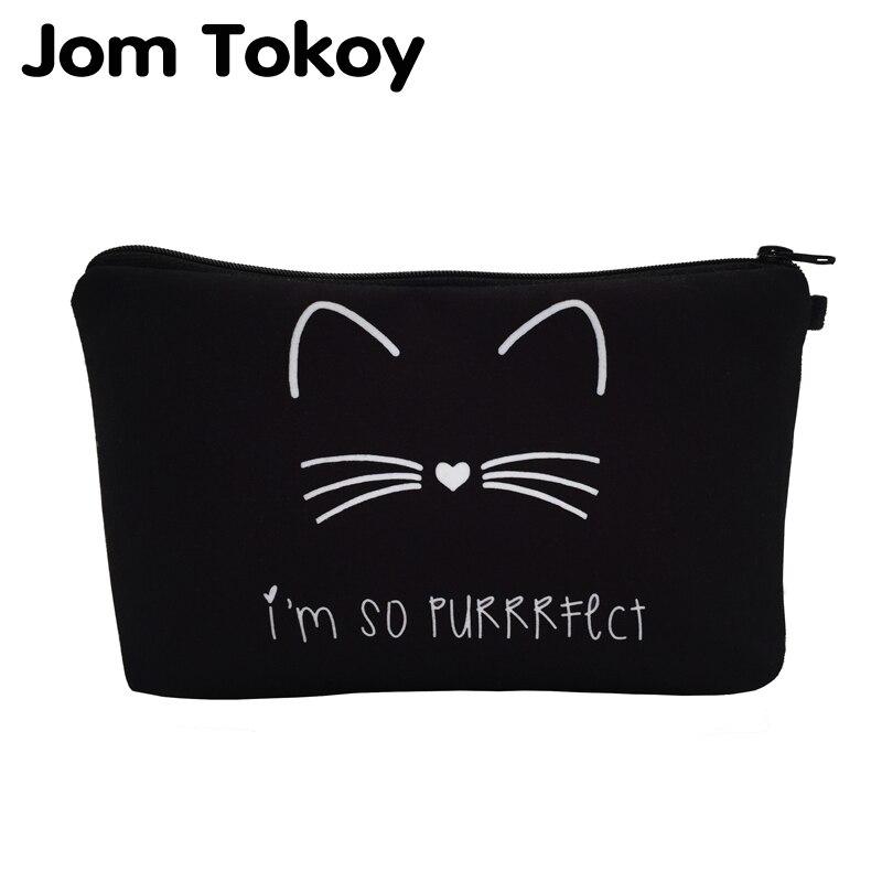 jom-tokoy-2018-cosmetic-organizer-bag-pure-black-cute-cat-prints-cosmetic-bag-fashion-women-brand-makeup-bag