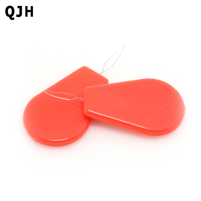 12Pcs/lot Plastic Automatic Needle Threader Elderly Easy To Use Needlework Wire Stitch Insert Craft Sewing Machines Tools