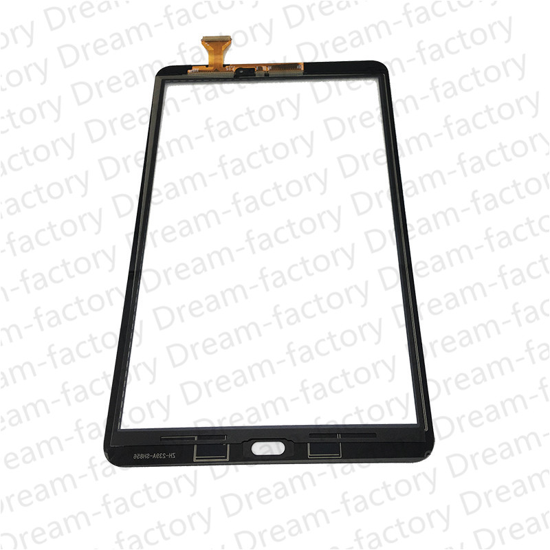 20PCS Touch Screen Digitizer Glass Lens with Sponge for Samsung Tab A 10.1 2016 T580 T585 free DHL touch screen digitizer glass lens with tape for samsung galaxy tab 4 10 1 t530 t531 with tools free dhl