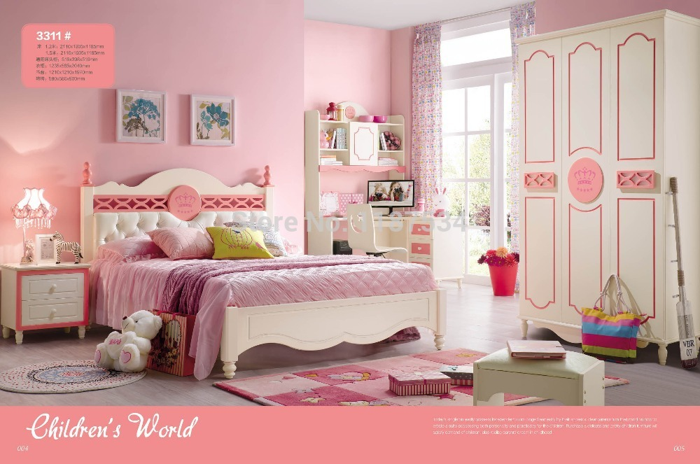 3311 Children bedroom furniture sets children bed wardrobe desk chair nightstand liebherr cuwb 3311