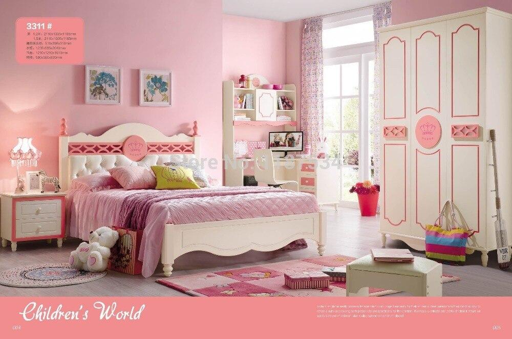 3311 Children bedroom furniture sets children bed wardrobe desk chair nightstand двухкамерный холодильник liebherr cuwb 3311