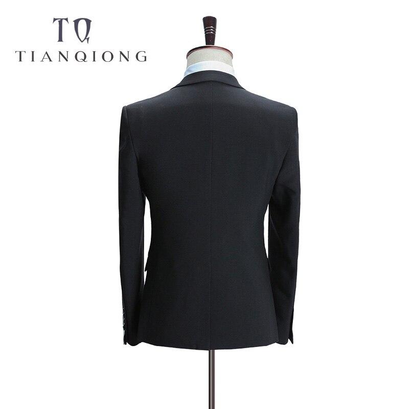 Tian QIONG Burra Dasma për burra Kostume të hollë Fit 3 copë me - Veshje për meshkuj - Foto 4